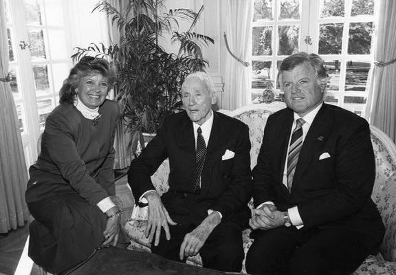 Governor Martha Layne Collins, Senator John Sherman Cooper and Senator Edward